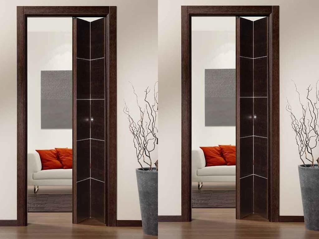 Porte in legno pieghevoli a libro | Serramenti Tomasini